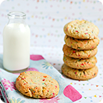 Funfetti Cake Batter Cookies Recipe