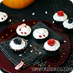 Vampire Cardamom Chocolate Cupcakes Recipe