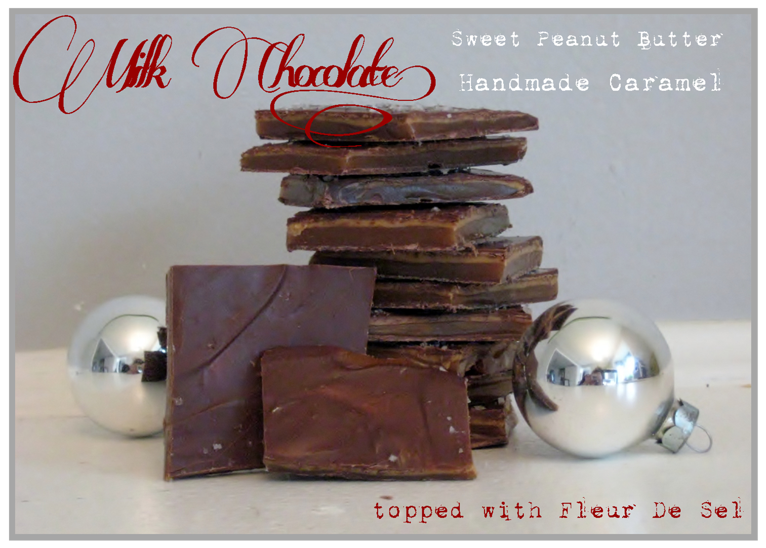Caramel and Peanut Butter Milk Chocolate by Sweet Boutique