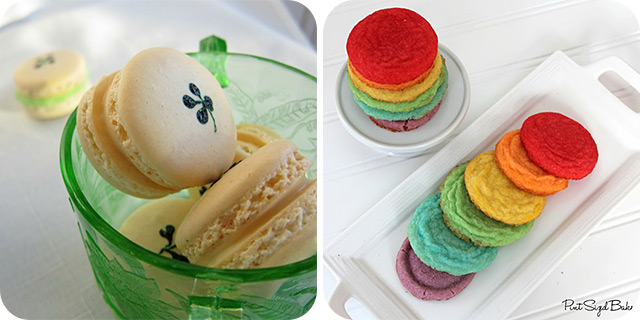 Nutty Irishman Macarons | Rainbow Cookies