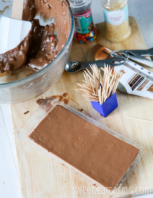 Copycat DIY Cadbury's Dairy Milk Marvellous Creations Chocolate Bar