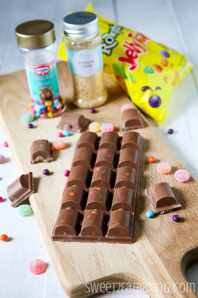 DIY Cadbury's Dairy Milk Marvellous Creations Chocolate (Candy) Bar