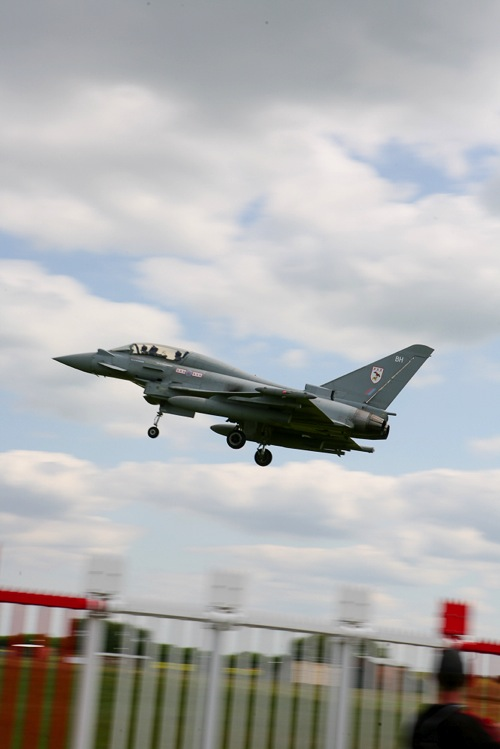 Euro Fighter Jet at RAF Coningsby