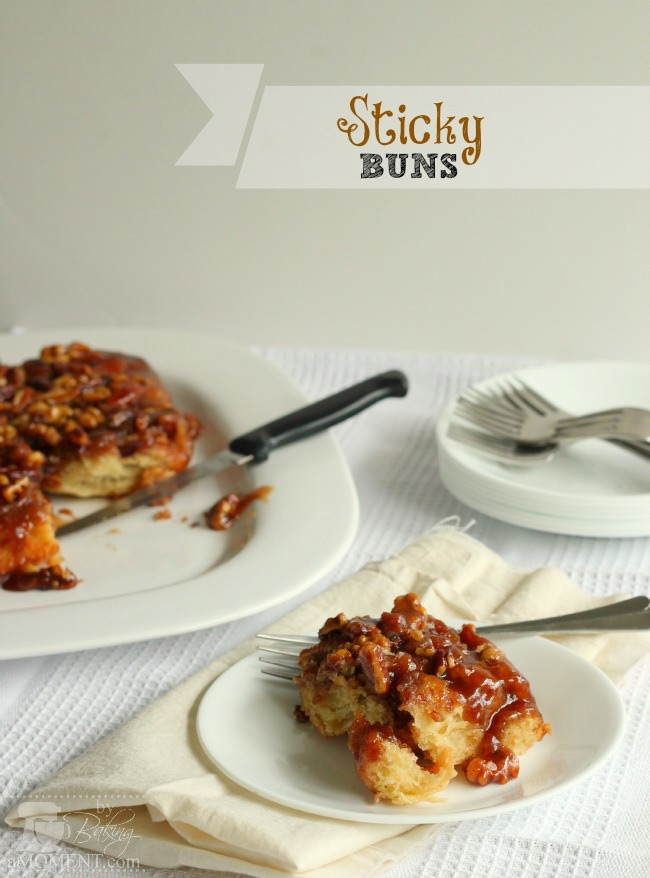 Sticky Buns by Baking A Moment