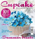 Featured in Summer 2014 Cupcake Heaven Magazine