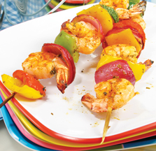 Summer Pineapple Shrimp Kabobs