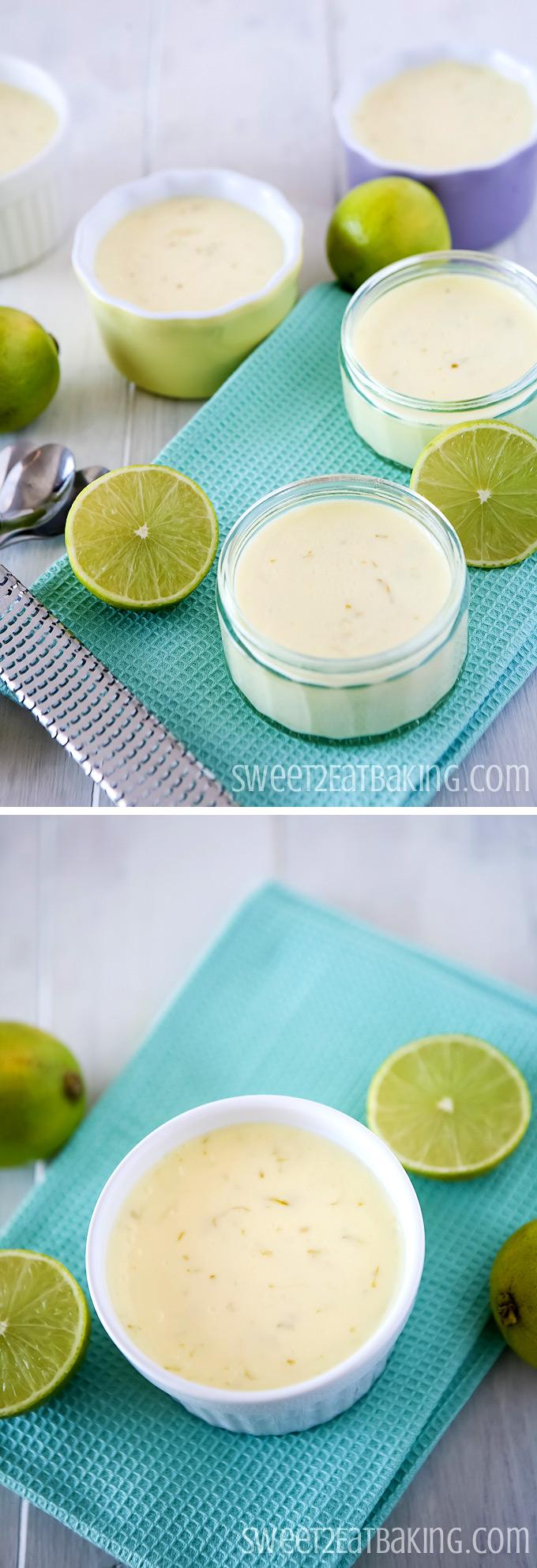 Key Lime Posset | Sweet2EatBaking | #keylime #posset #dessert #pudding #summer #nobake