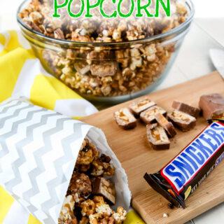 SNICKERS Popcorn by Sweet2EatBaking