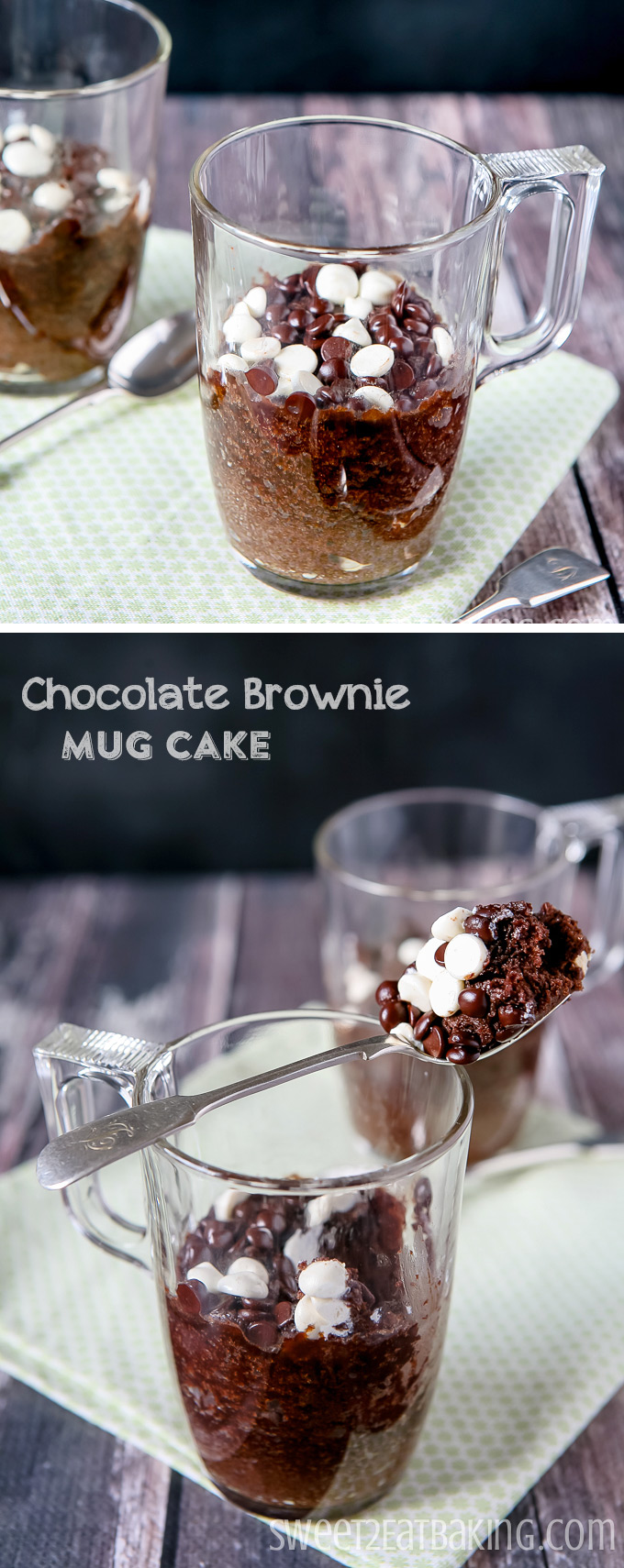 Chocolate Brownie Mug Cake Recipe